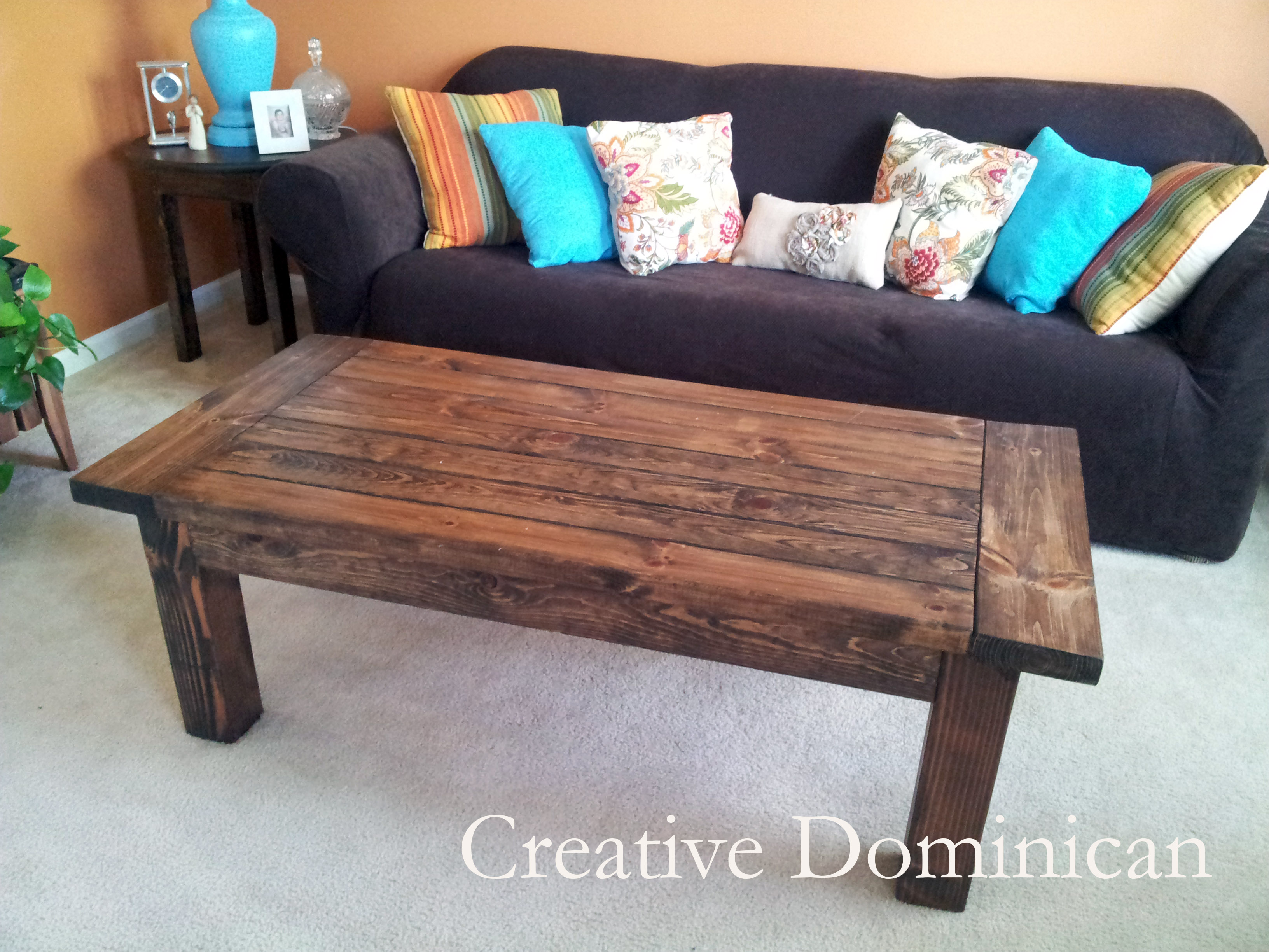 Simple Coffee Table Plans Simple Rustic Coffee Table Plans