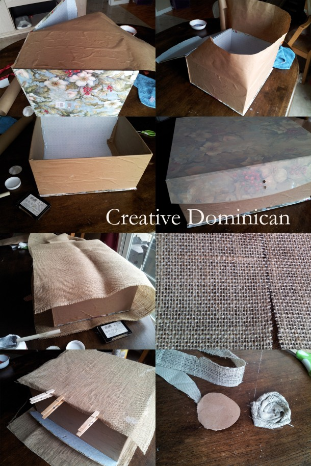 Decorative box steps