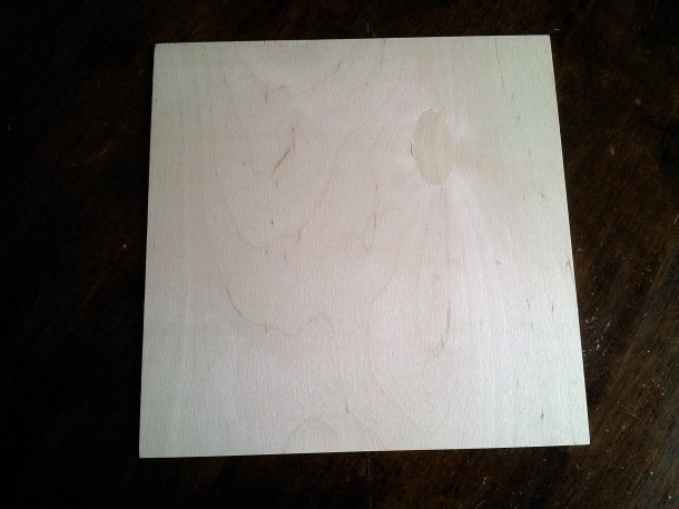 12 x 12 wood