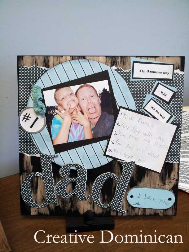 DIY Fathers day gift