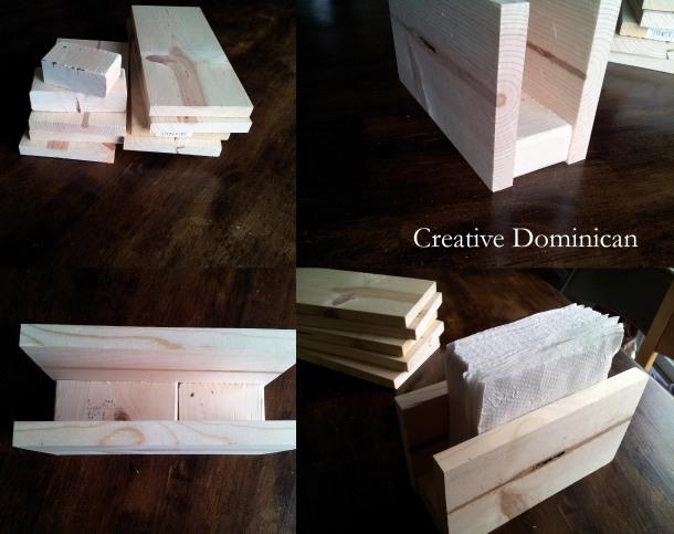 DIY Patriotic Silverware Caddy_wood