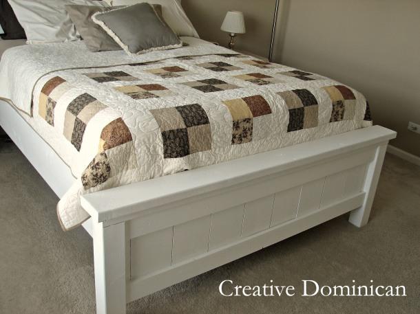DIY Farmhouse Bed