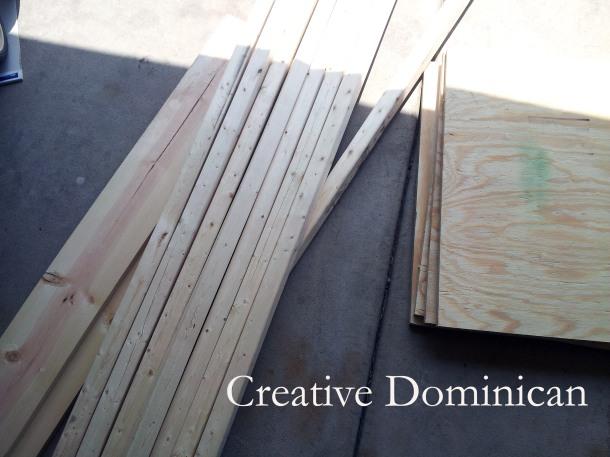 DIY Dollhouse Materials